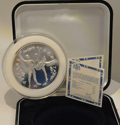 25 Rouble Russian Ballet 1993 Russia 5 oz Silver Proof
