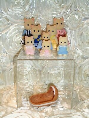 Sylvanian Families, Chantilly Cat Family, Calico Critters