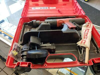 Hilti DX 351-CT Powder Actuated Tool With Case & Accessories