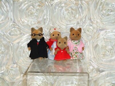 Sylvanian Families, Merryweather Cat Family, Calico Critters, Professor, Nurse
