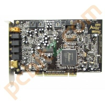Creative Labs SB0090 Sound Blaster Audigy PCI Sound Card With AUD EXT Cable