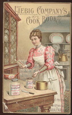 Large Trade Card Advertising Liebig Co.'s Cook Book, Extract Of Beef