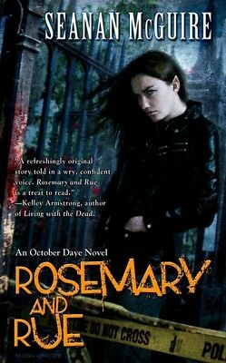 An October Daye novel: Rosemary and rue by Seanan McGuire (Paperback)