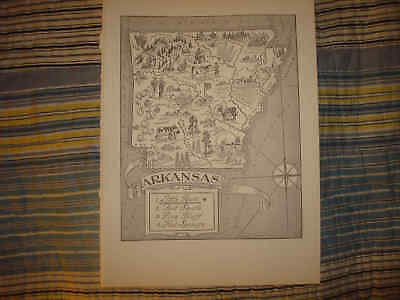1951 pictorial map Philadelphia Electric Company facilities rivers roads 11544