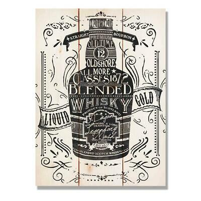 Day Dream WLWG1115 11 x 15 in. Liquid Whisky Gold Wall Art