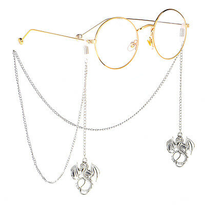 Dragon Pendant Eyeglass Cord Glasses Eyewear Spectacles Chain Holder GL212