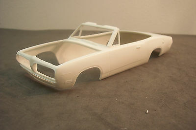 1969 Mpc/amt Barracuda Convertible  Kit  1/25 Scale Resin