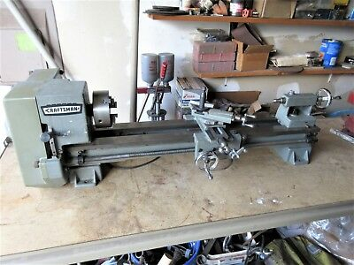 Vintage Craftsman Atlas Metal lathe. No.101.21200