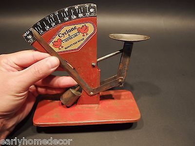 Vintage Antique Style, Cyclone Egg Scale Chicken Farm Country Farmhouse