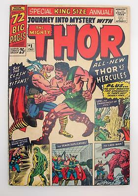 Journey Into Mystery #1 Annual (F) 6.0 Silver Age Marvel, Thor, 1st App Hercules