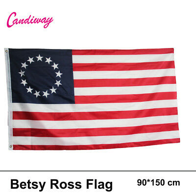 Betsy Ross Flag Flag 90*150CM United States of America Banner USA flag NN036