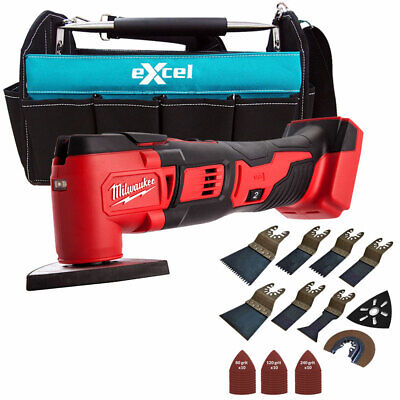 Milwaukee M18BMT-0 M18 18V Multi Tool With Tote Bag & 39pcs Accessories Set