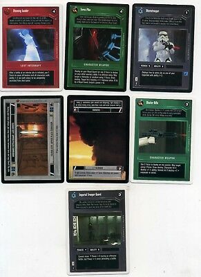 Star Wars Game Card Lot Of 7