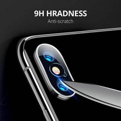 For Apple iPhone X XS Max XR Tempered Glass  Back Camera Lens Screen Protector