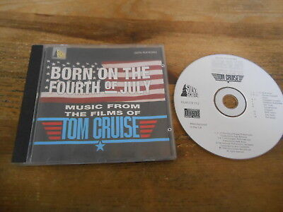 CD OST Soundtrack -  Born On The 4th Of July + More (15 Song) SILVA SCREEN jc