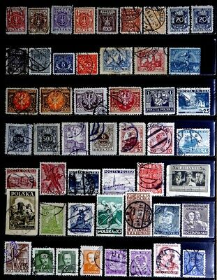 Poland: Classic Era To 40's Stamp Collection
