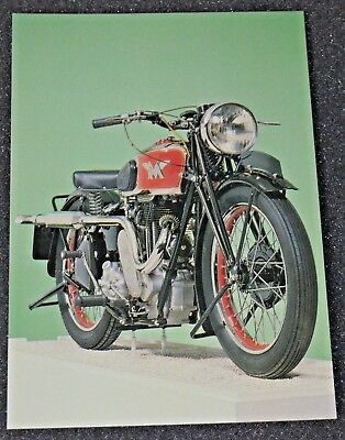 Classic 1939 500cc MATCHLESS model 39/G80 Motorcycle Postcard