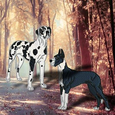 Realistic Great Dane 10  Machine Embroidery Designs Cd 2 Sizes