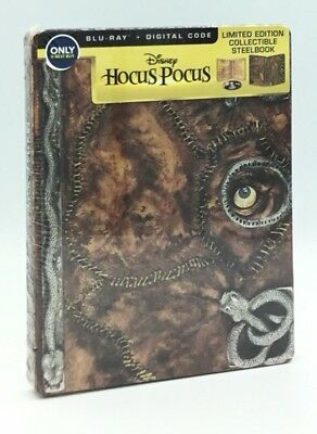 Hocus Pocus (Blu-ray+Digital, 2018; Only @ Best Buy Limited Ed. Steelbook) OOP