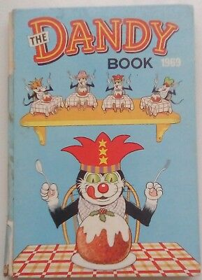 Dandy Book 1969. Good+ Condition. Price Not Clipped.
