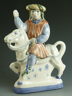 RYE Pottery - Canterbury Tales Flatback Figure - The Guildsman