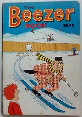 Beezer Book 1971. Good+ Condition. Price Clipped.