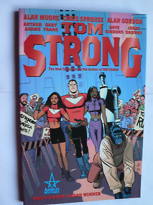 Alan Moore.Tom Strong.Book One.Graphic Novel.TPB 1st.Paperback.Collects# 1-7