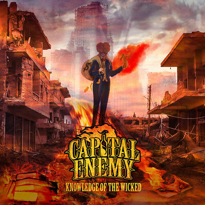 Capital Enemy - Knowledge Of The Wicked CD CROWNED KINGS HATEBREED