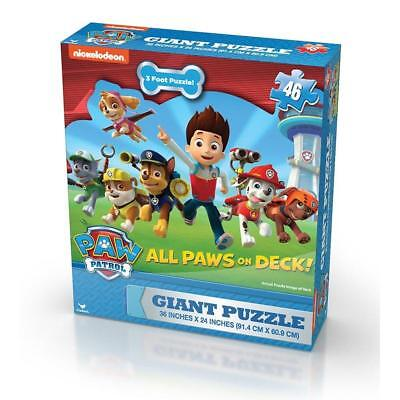 Paw Patrol 46 Piece Giant Floor Children/Kids Jigsaw Puzzle - Large Pieces