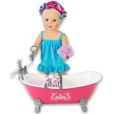 "Molly Dolly Bath Set For 18"" Inch Doll Our Generation Accessories American Girl"