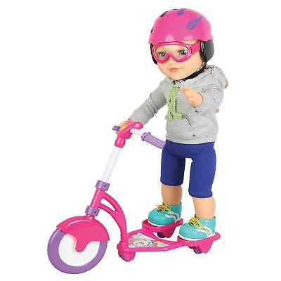 "Molly Dolly Scooter Set For 18"" Doll Our Generation Accessories American Girl"