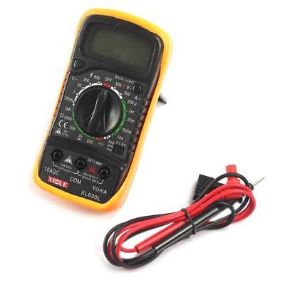 Digital LCD Multimeter Voltmeter Ammeter AC DC OHM Volt Tester Test Current