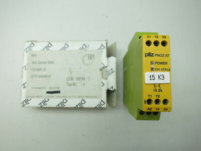 675500//Pnoz-Z 2S Relay Security Used Pilz 675500