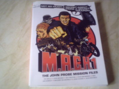 m.a.c.h.1 the john probe mission files  early 2000ad  pat mills  paperback