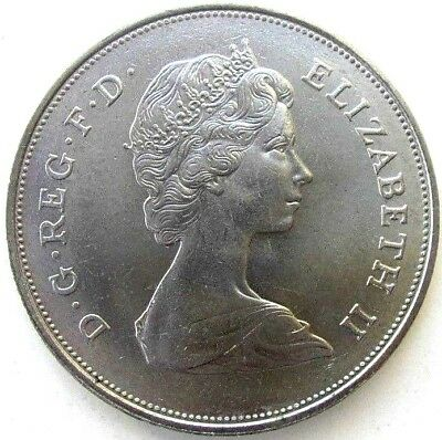 Great Britain Uk Coins, Crown - 25 New Pence 1981, Prince Charles & Lady Diana