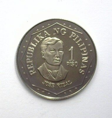 Philippines 1979 Piso  Near Perfect Proof Dcam  Km#209.2