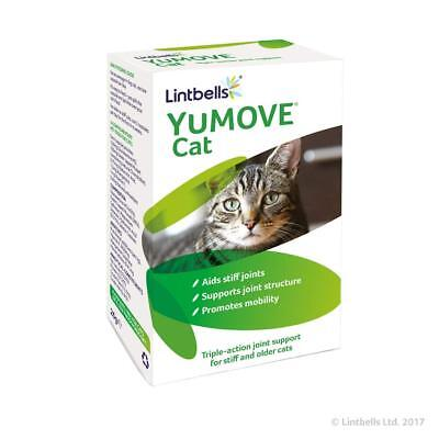 Lintbells Yumove Cat 60 Capsules - Joint Supplement Aids & Supports Stiff Joints