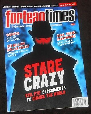 Fortean Times UK Magazine Issue 101 August 1997 Alien Big Cats Albinos Evil Eye