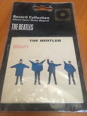 The Beatles Help!official Apple Merch Magnet Bnip