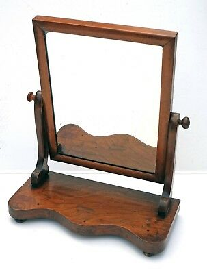 Lovely Antique Victorian Dressing Table Vanity Swing Mirror. Freestanding.