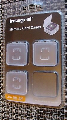 Integral Memory Card Cases (Three Only)
