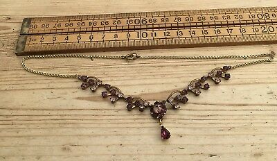 Sparkling Vintage Necklace, Pretty