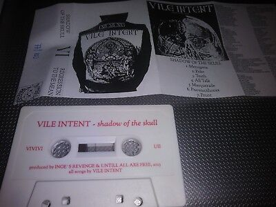 Vile Intent – Shadow Of The Skull / Regression To The Mean demo tape sex p . ha