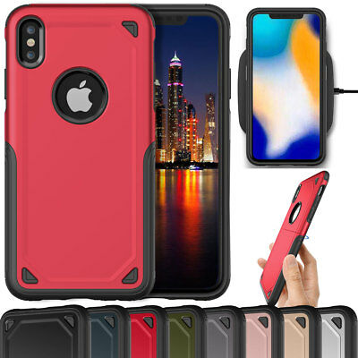 For iPhone Xs Max XR 2018 Phone Case Hybrid Shockproof Rugged Protective Cover