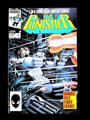 The Punisher. #1. 1985. First Issue Of Limited Series.  Near Mint (9.4)