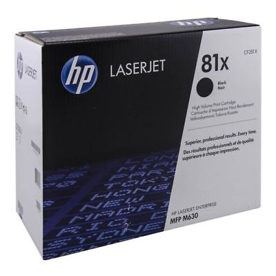 NEW Genuine HP CF281X  Toner Cartridge 81X