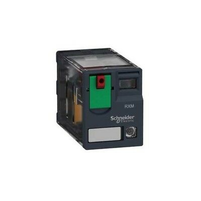 Schneider Electric RXM4AB2F7 4PDT Miniature Relay with LED 120VAC 6A