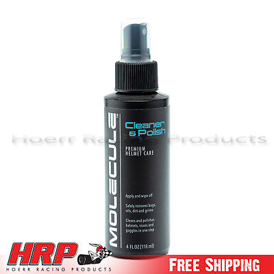 Molecule MLHCP Helmet Cleaner And Polish 4oz. Spray Bottle
