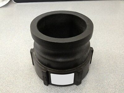 """Cam Action Coupler, 4""""a Male Adapter X Female Thread, P#62789 Norwesco Camlock"""