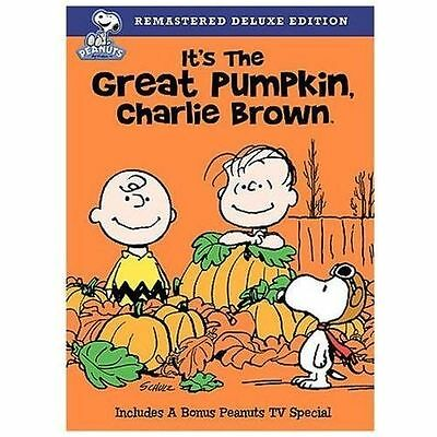 It's the Great Pumpkin, Charlie Brown (DVD, 2008) NEW